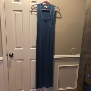 Olive & Oak Outfitters contrast trim maxi dress S